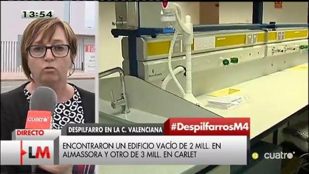 """S. Nicolau: """"Es un despropósito este centro, más pensando que en Almazora hay dos centros de educación en aulas prefabricadas"""""""