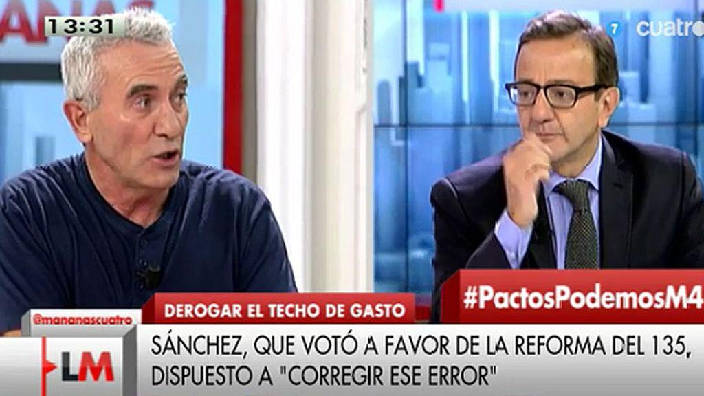 """Diego Cañamero: """"No habrá cambio político si no hay movilización social"""""""