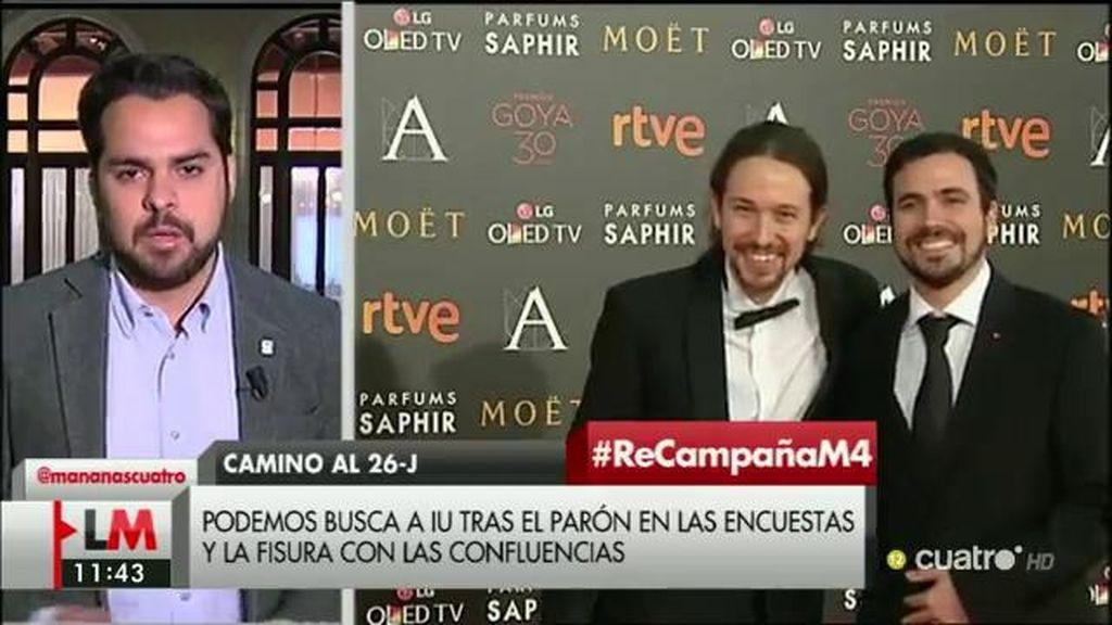 """F. de Páramo, de Iglesias: """"Eso de que vienen a cambiar las cosas, de la mano de IU y del partido comunista pierde credibilidad"""""""