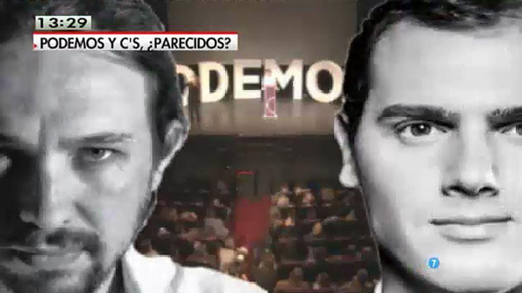 Analizamos los discursos de Albert Rivera y Pablo Iglesias