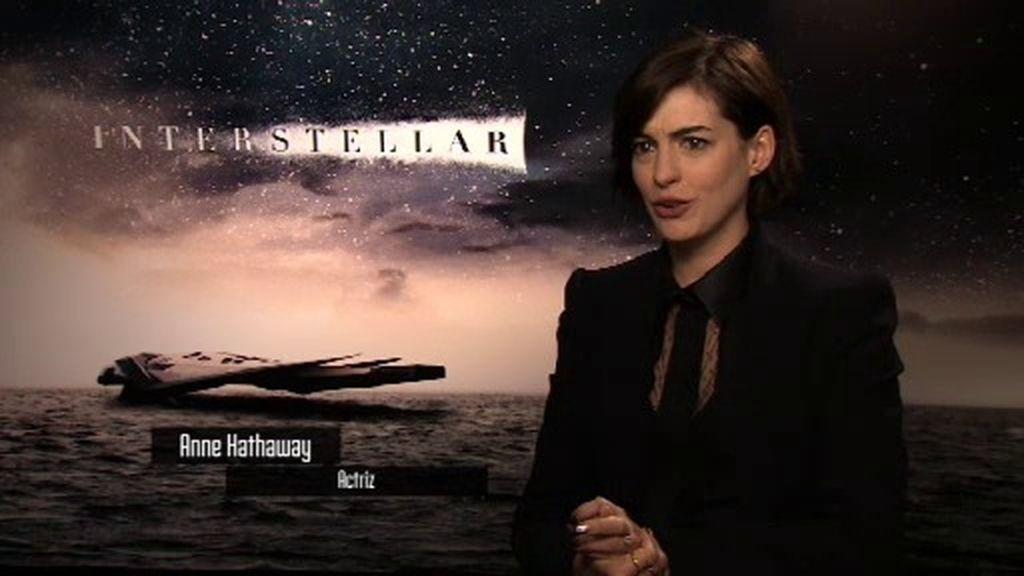 """Anne Hathaway, sobre 'Interstellar': """"La ciencia que hay en la película es real"""""""