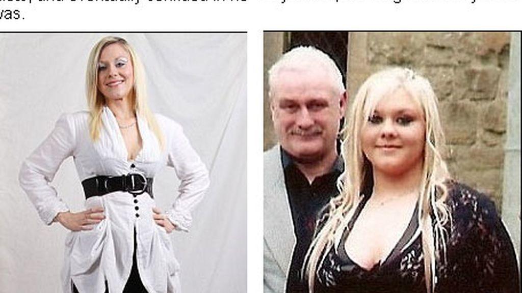 Katie ha perdido más de 63 kilos.