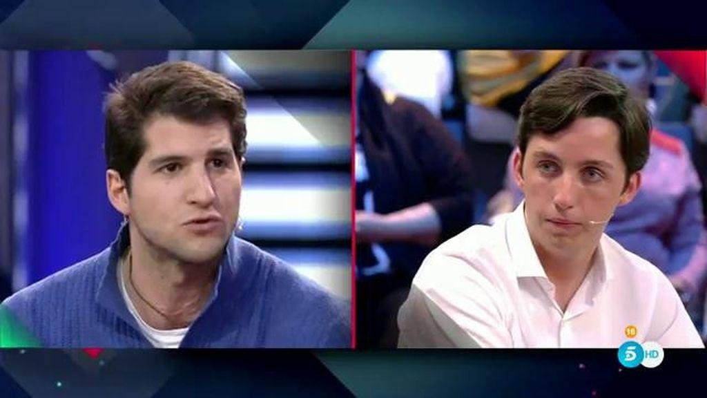 """Julián Contreras, a Fran: """"¿Tú no dijiste que abandoné a mi madre y por eso se suicidó?"""""""