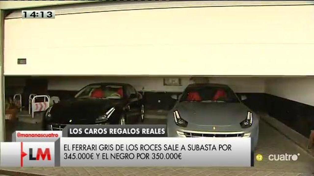 Los Ferraris del rey Juan Carlos: Los roces en el gris descuenta su precio en 5000 euros