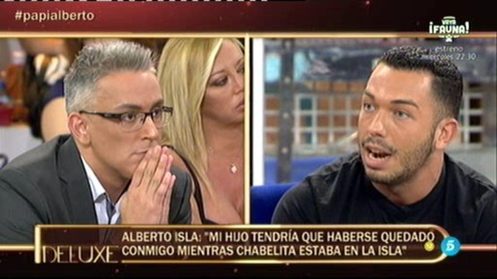 """Alberto Isla, sobre Dulce: """"Para mí es la persona que más quiere a Isa"""""""