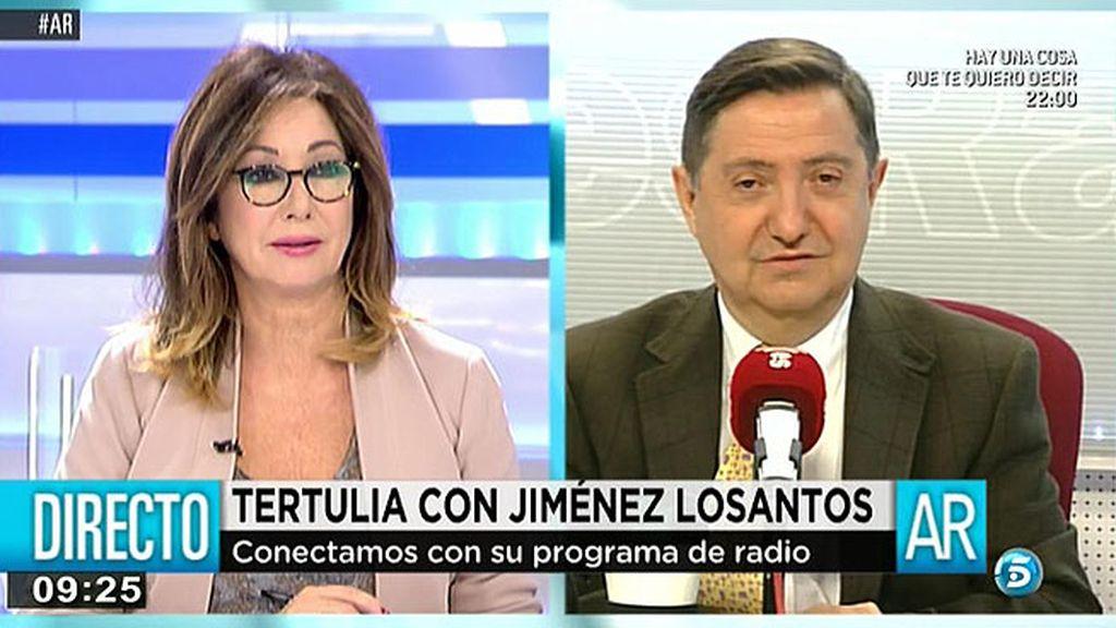 El experimento televisivo de 'AR': conecta en directo con la tertulia de Jiménez Losantos