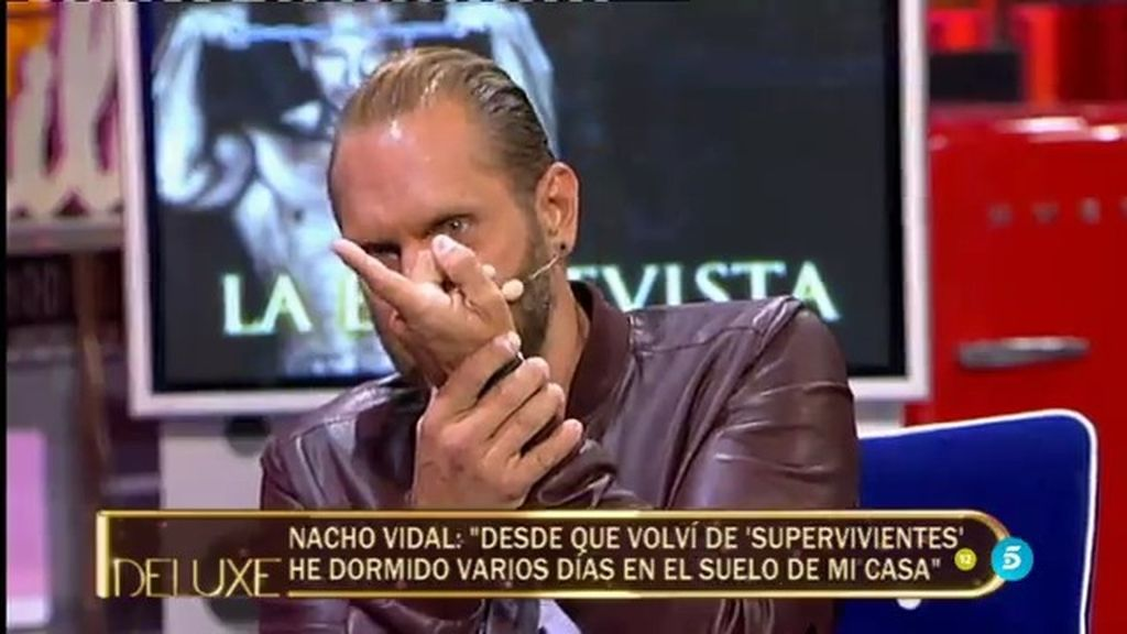 """Nacho Vidal: """"Ahora mi pene mide menos pero a mi mujer le encanta"""""""