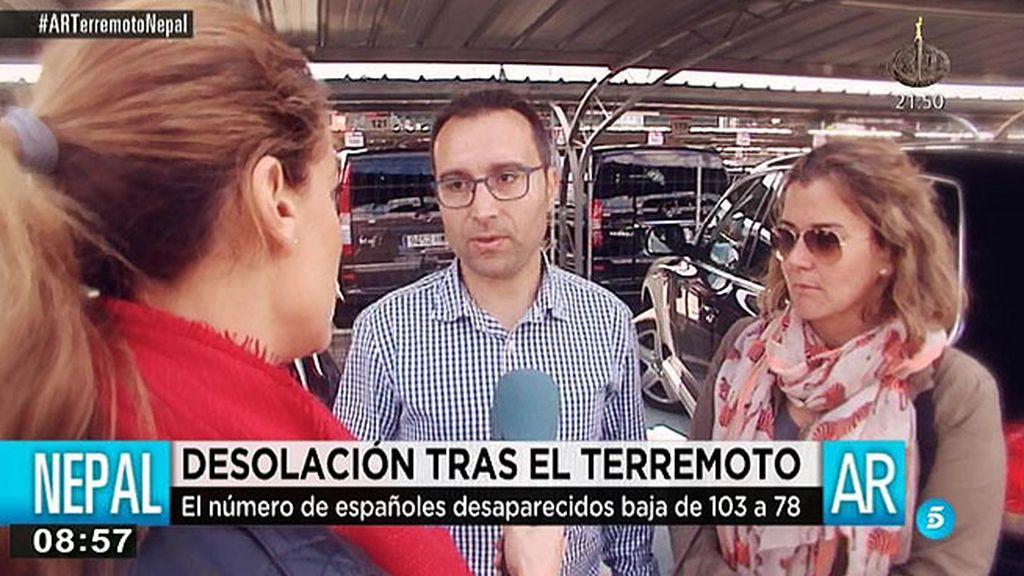 78 españoles continúan desparecidos en Nepal
