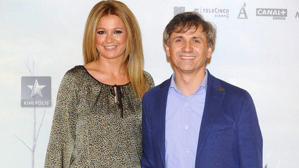 El actor José Mota acudió con su mujer, Patricia Arribas