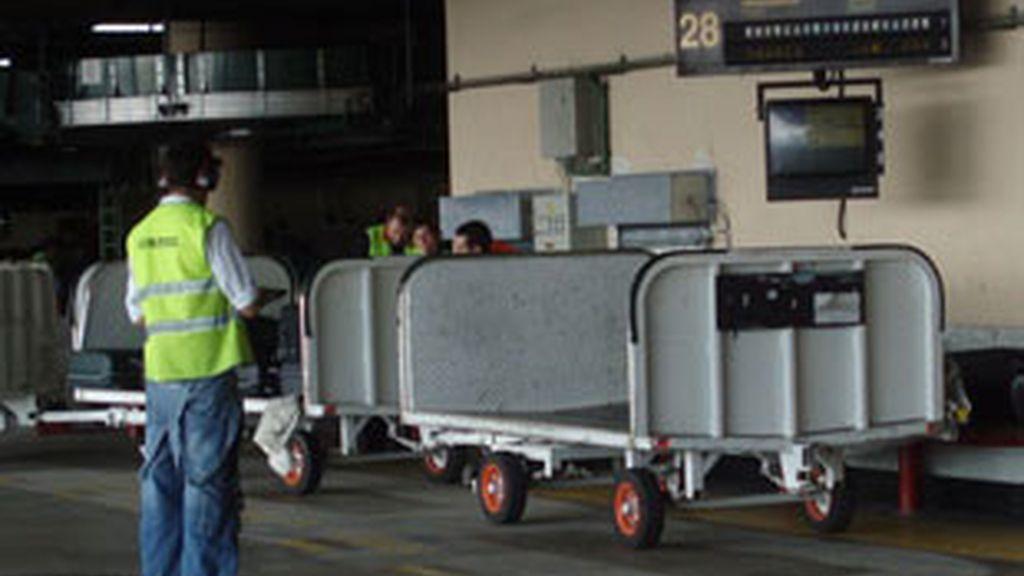 Huelga para el servicio de tierra de los aeropuertos. Vídeo: Atlas.