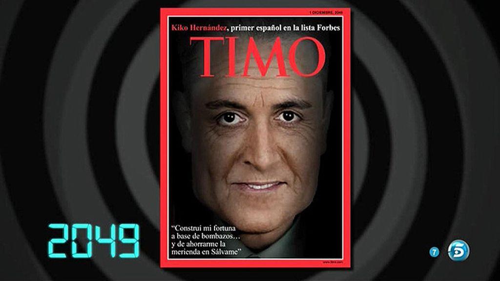 Portada del futuro: Kiko Hernández, protagonista de la revista 'Timo'