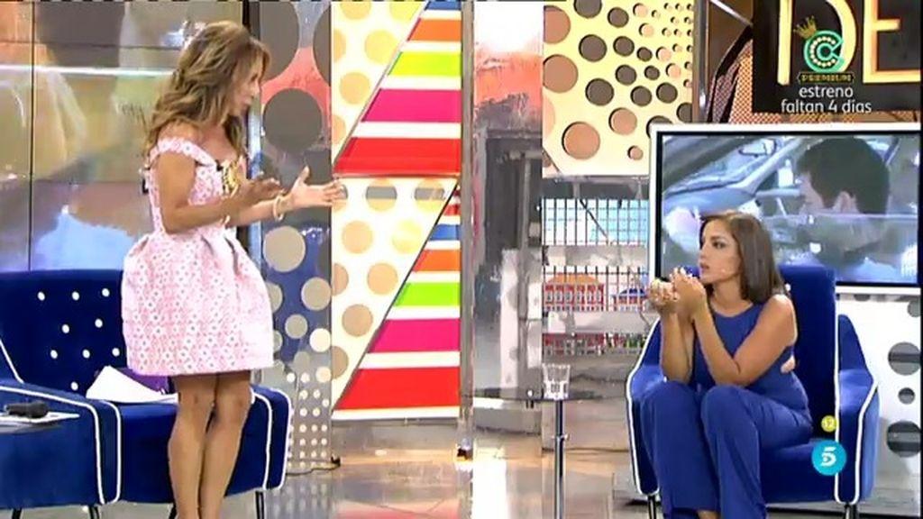 """Estefanía: """"Alberto Isla es celoso de una manera excesiva...ha ido de menos a más"""""""