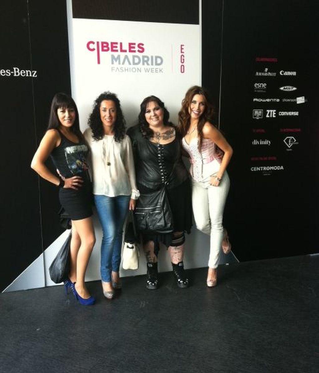 Los famosos hablan desde Cibeles (y mandan fotos)