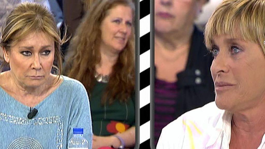 Mila Ximénez y Chelo Gª Cortés se reconcilian tras un enfrentamiento