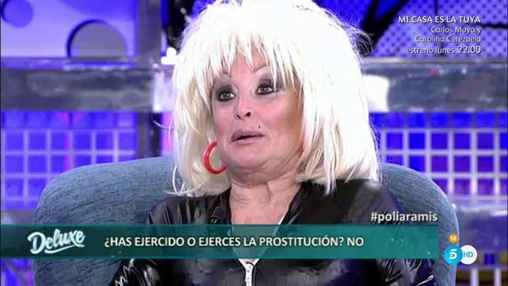 """Aramis dice no haber ejercido la prostitución: """"Si tengo que serlo, lo seré de lujo"""""""