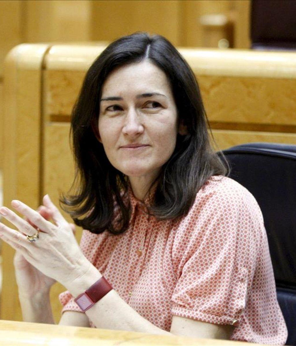 La ministra de Cultura, Ángeles González-Sinde. EFE/Archivo
