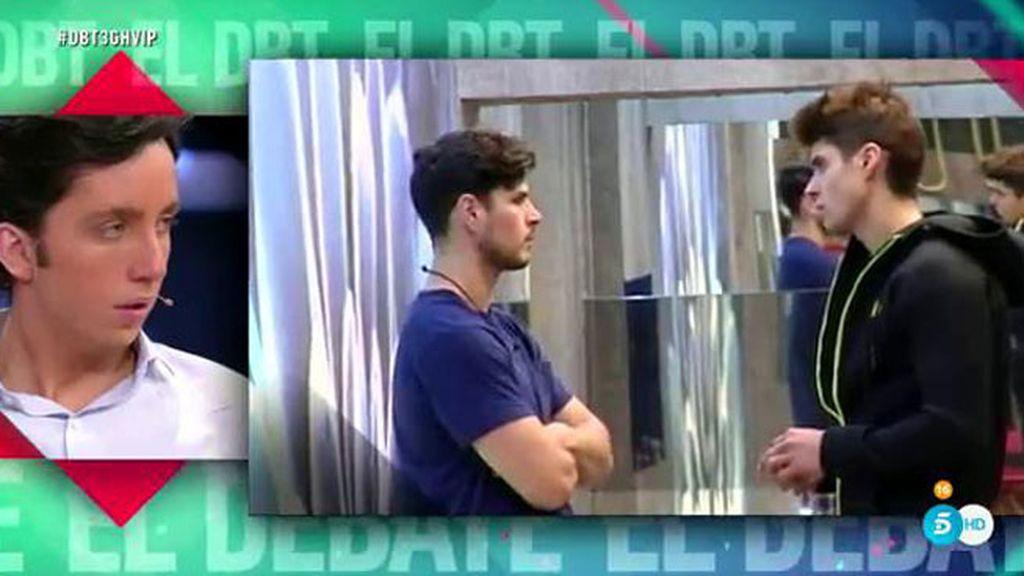 """Javier, a Alejandro: """"Sé tú mismo"""""""