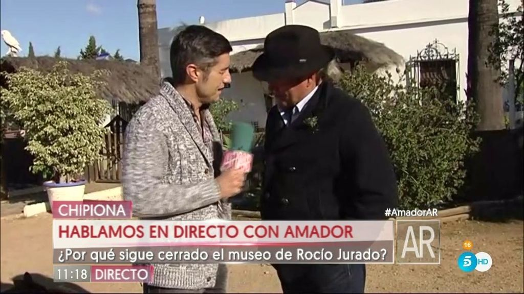 """Amador: """"No he hablado ni con mi sobrina, ni con Rosa desde la """"cobra"""" en la isla"""""""