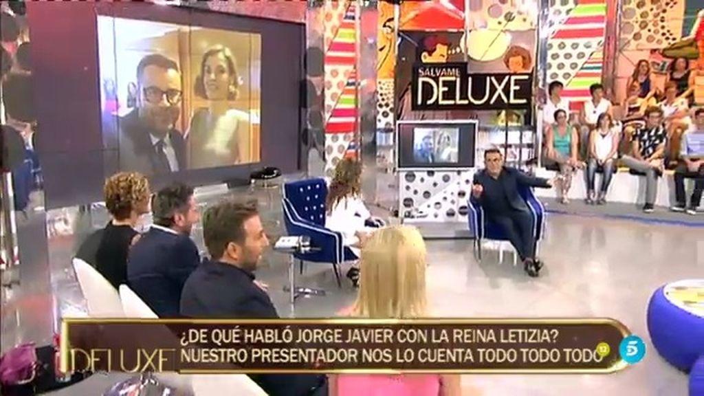 ¡El 'selfie' de Jorge Javier con Letizia!