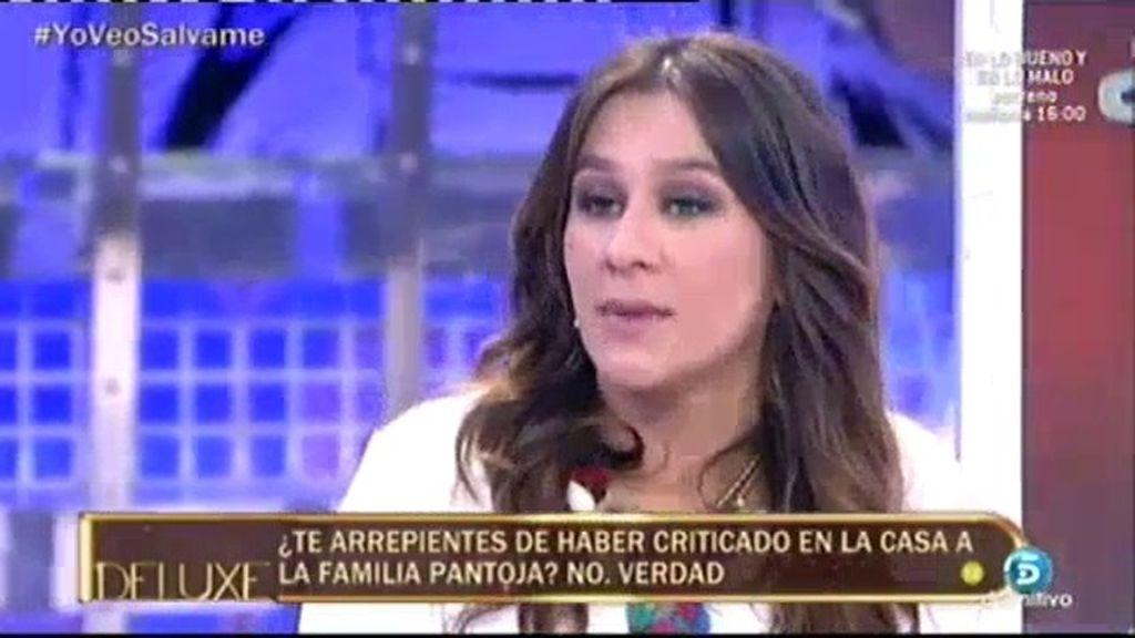 """Laura Cuevas, se sincera: """"Me arrepiento de lo que he dicho de la familia Pantoja"""""""