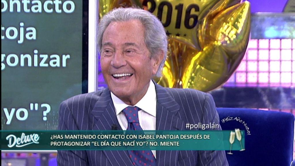 """Arturo Fernández, sobre Isabel Pantoja: """"Se separó porque se acordaba de mi beso"""""""
