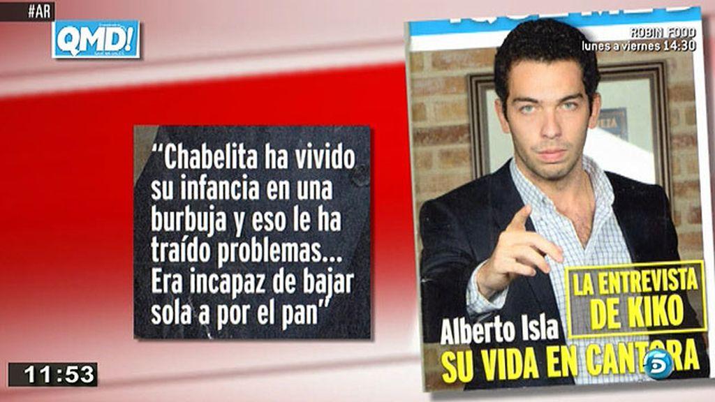 """Alberto Isla, sobre su exsuegra: """"La Pantoja se pasa el día en pijama y en pantuflas"""""""