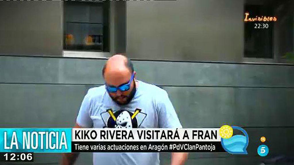 Kiko Rivera visita a su madre y el fin de semana visitará a Francisco en Zaragoza