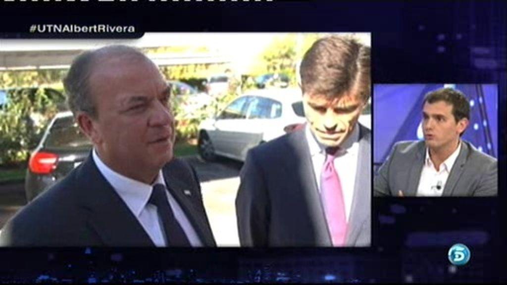"""Albert Rivera: """"Creo que Monago políticamente está tocado, si fuera él dimitiría"""""""