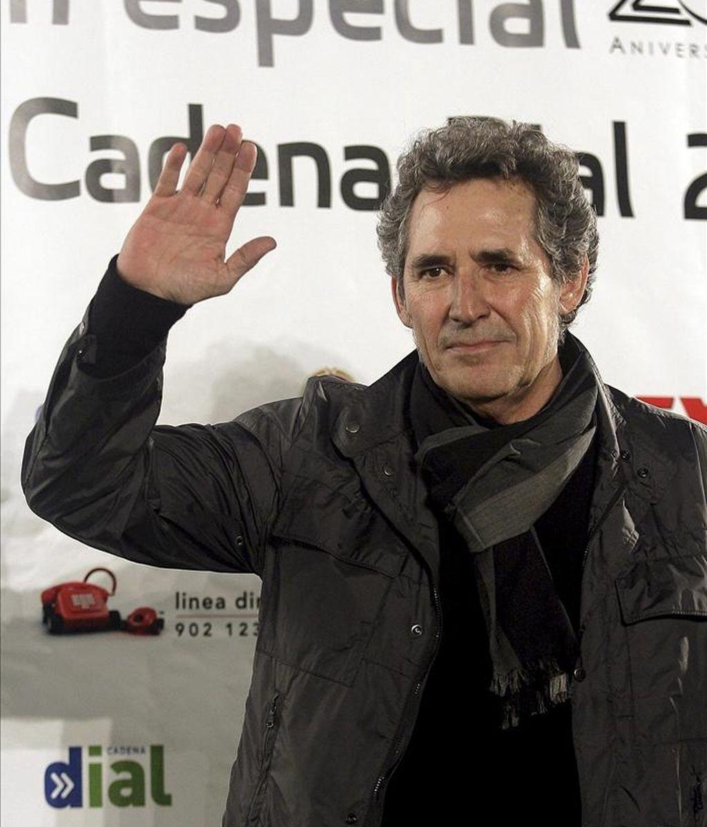 El cantante Miguel Ríos. EFE/Archivo