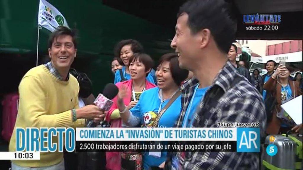 Invasión china en Madrid