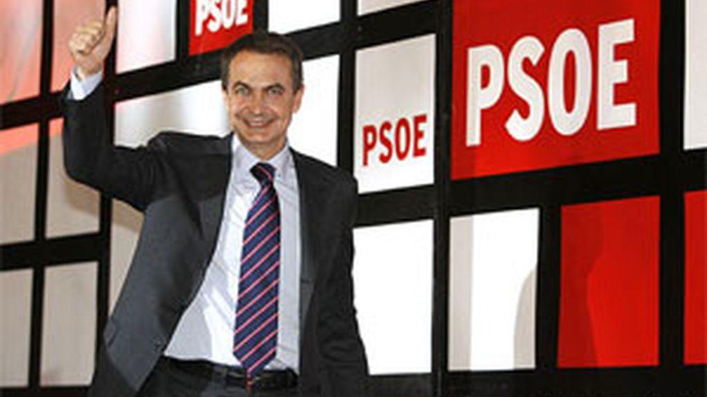 El presidente del gobierno, José Luis Rodríguez Zapatero. Foto: EFE.