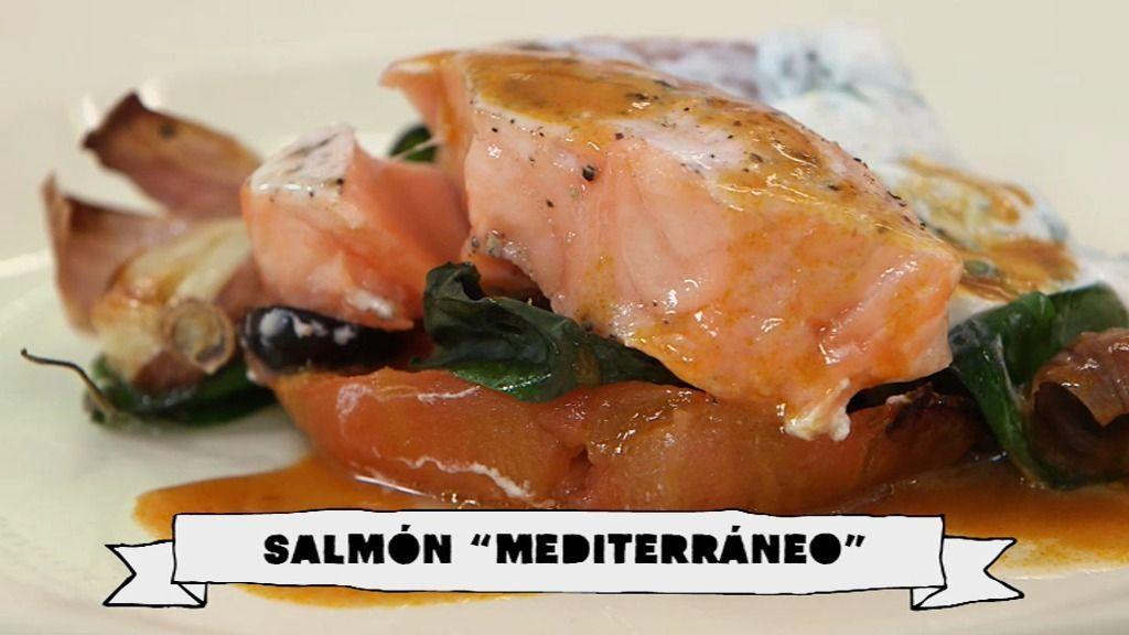 Salmón 'mediterráneo', nueva receta de los lunes adelgazantes en 'Robin Food'