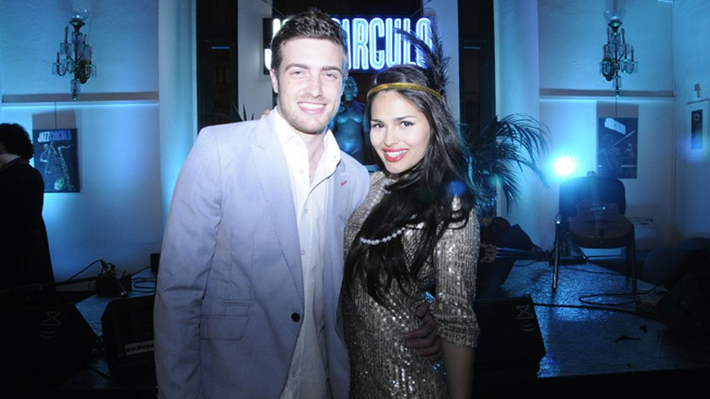 Raúl Mérida y Sara Sálamo