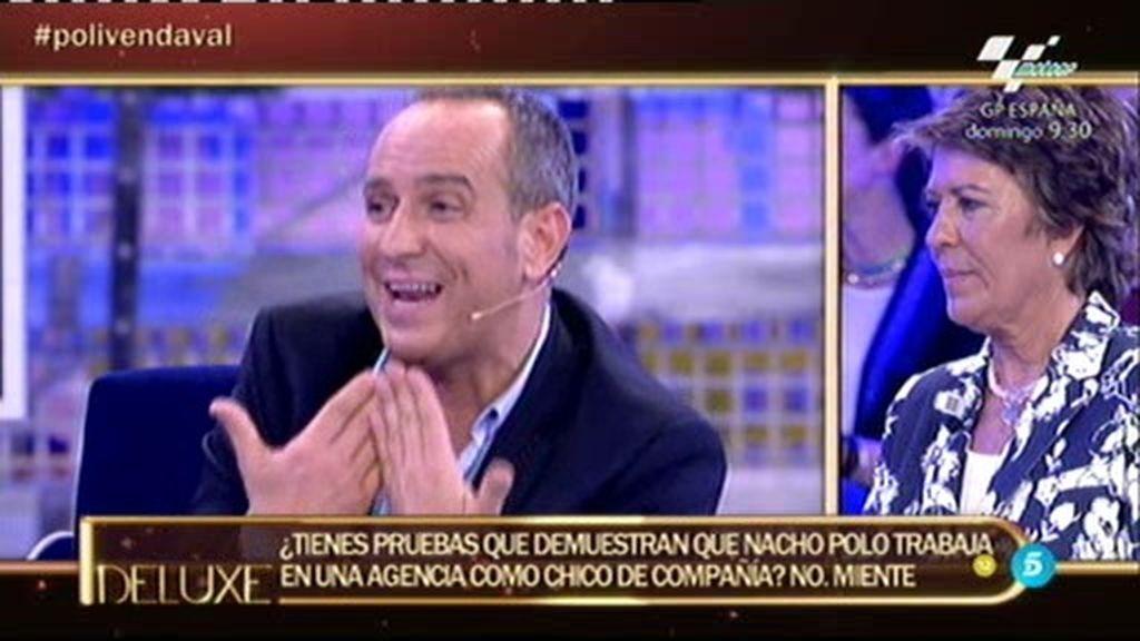 Víctor miente al 'Poli': ¿Trabaja Nacho Polo como chico de compañía?