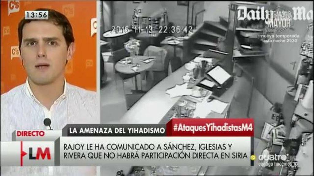La entrevista a Albert Rivera, a la carta