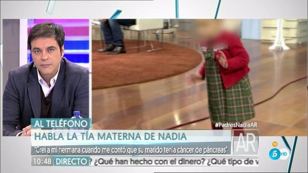 """Tía materna de Nadia: """"Jamás sospechamos que todo era mentira"""""""