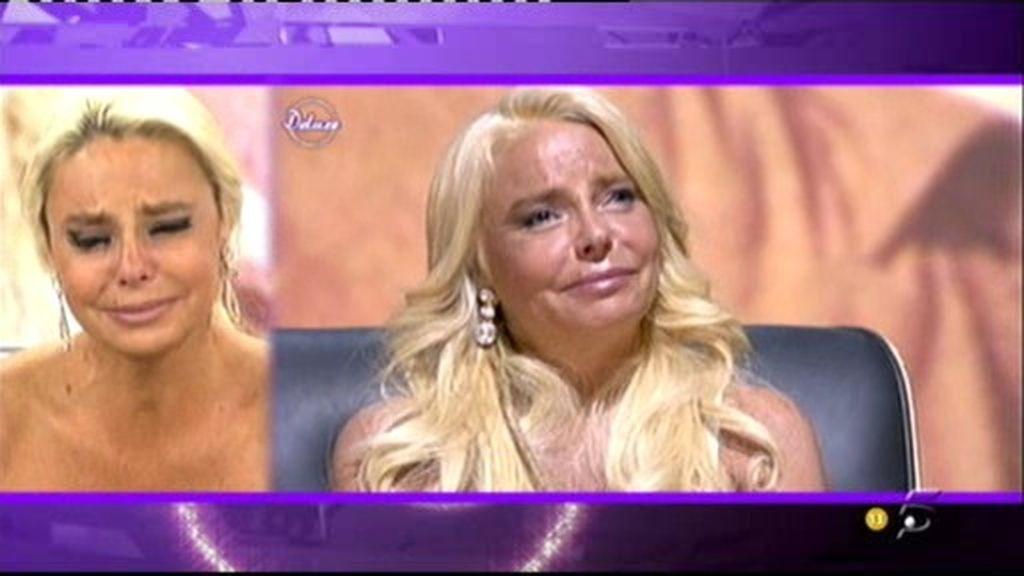 Leticia Sabater más emocionada que nunca en La Caja Deluxe