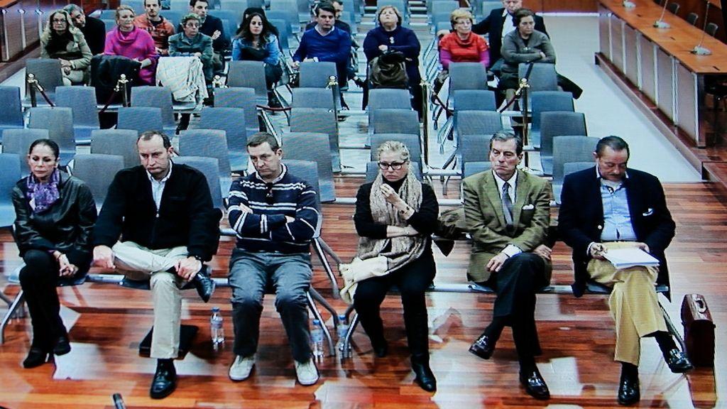 Juicio contra Pantoja, Muñoz y Zaldívar continúa con los informes de los abogados