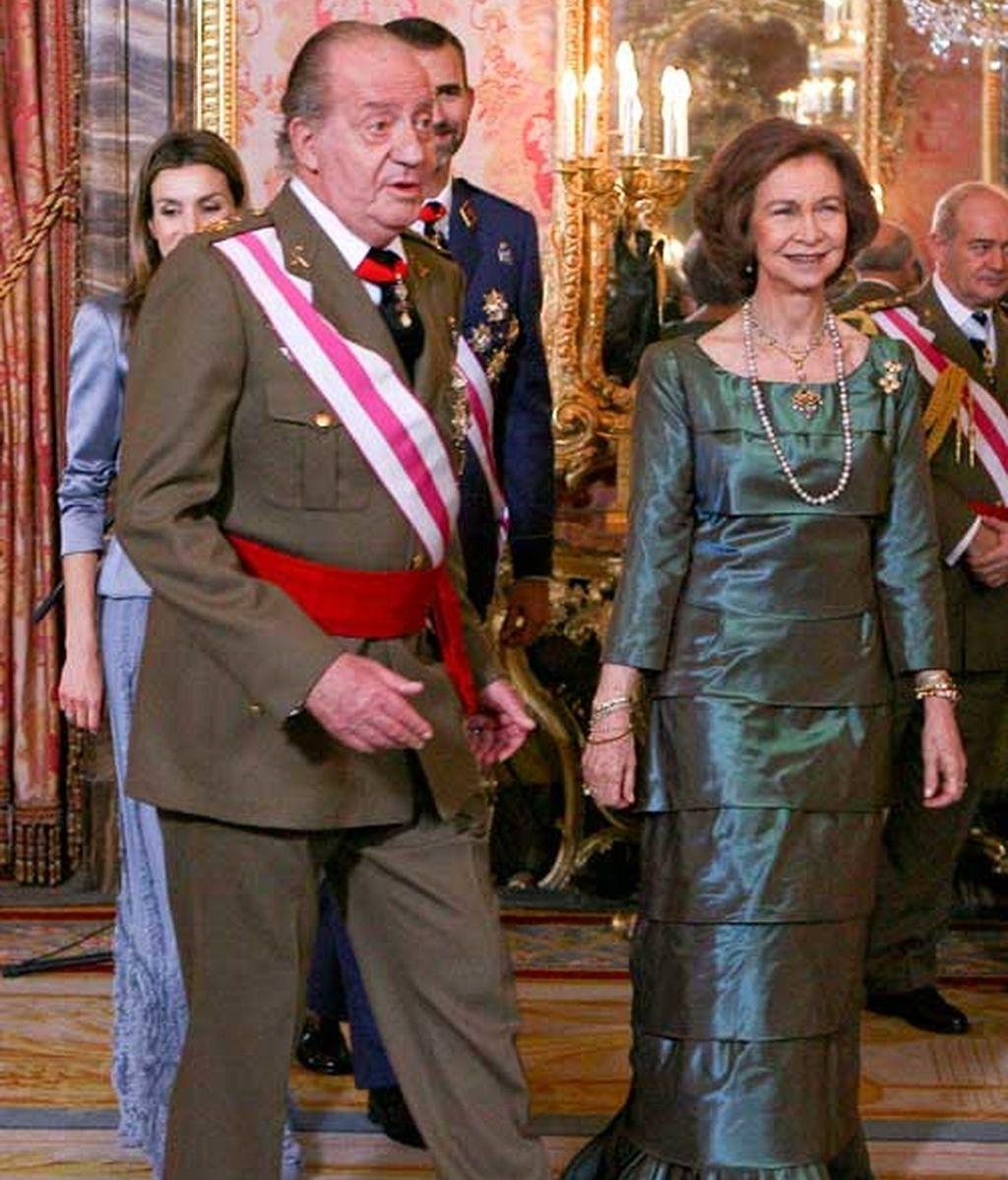La Família Real, en la Pascua Militar