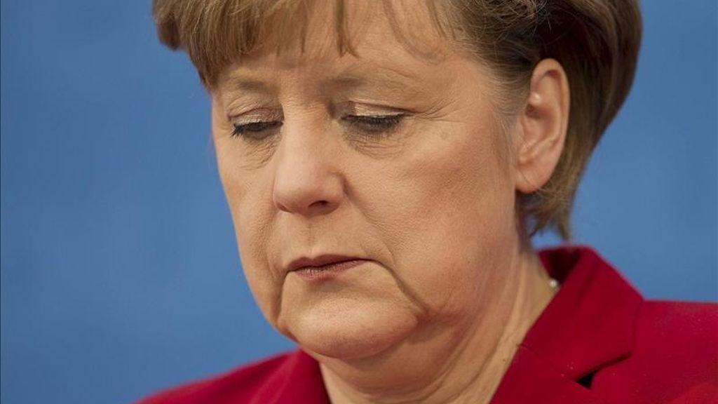 La canciller federal alemana, Angela Merkel. EFE/Archivo