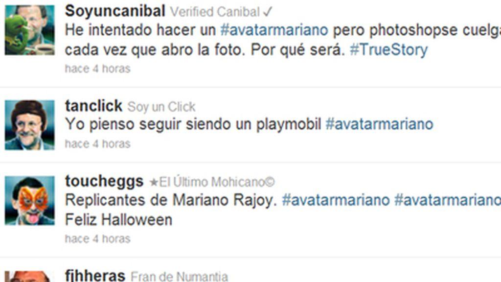 Rajoy, 'disfrazado' por Halloween