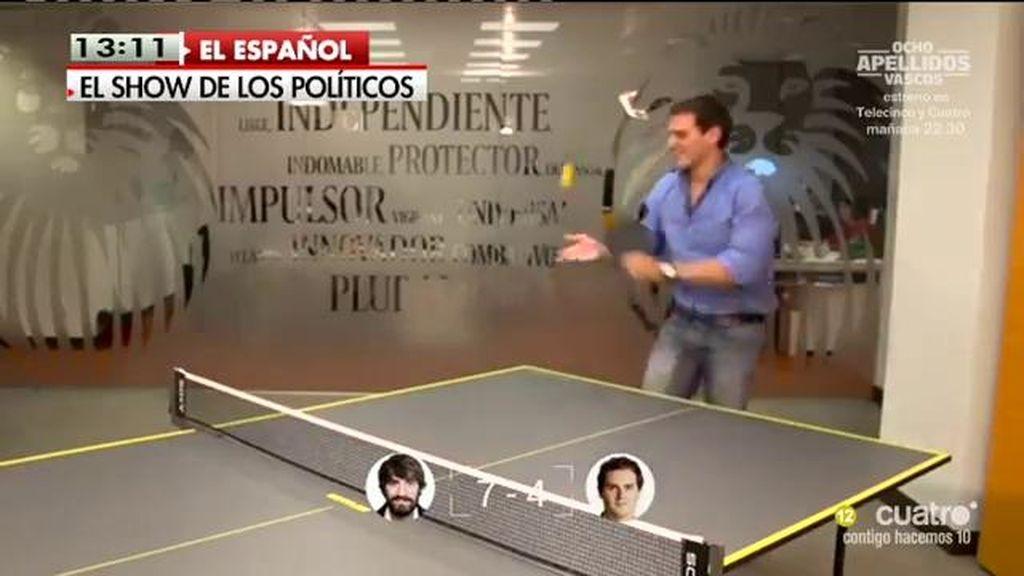 """El ping-pong de Albert Rivera: """"No somos marca blanca, somos marca Premium"""""""
