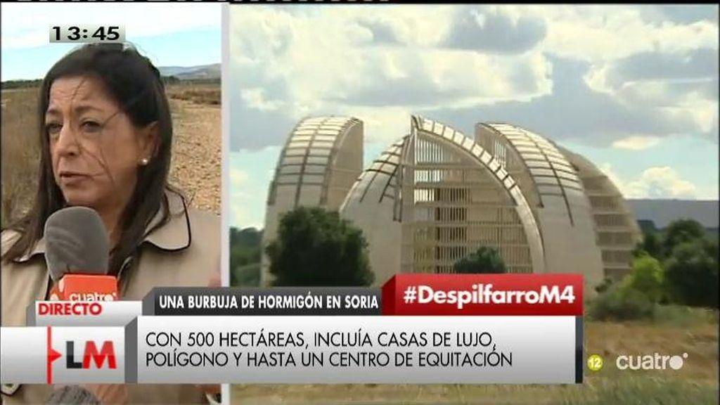 Otro macroproyecto fantasma: 52 millones 'tirados' en la ciudad de medioambiente de Soria