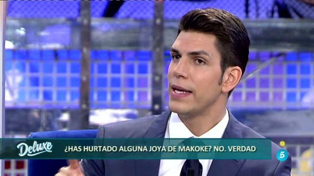 """Diego Matamoros: """"Quité dinero a mi padre pero nunca robé joyas a Makoke"""""""