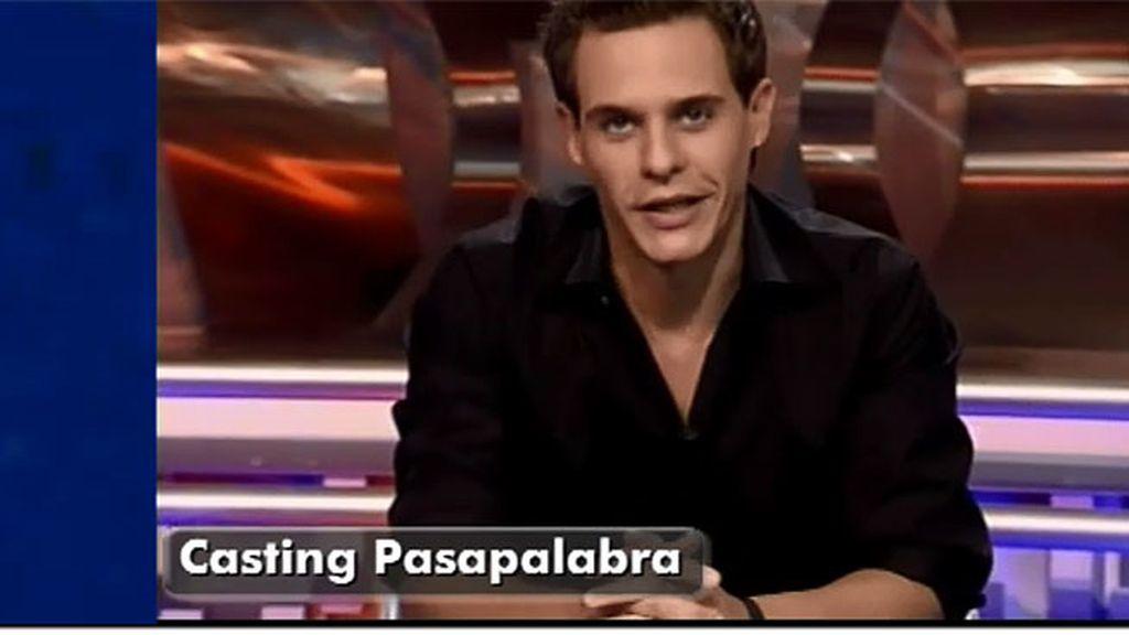 Así fue el casting de Christian Gálvez para 'Pasapalabra'