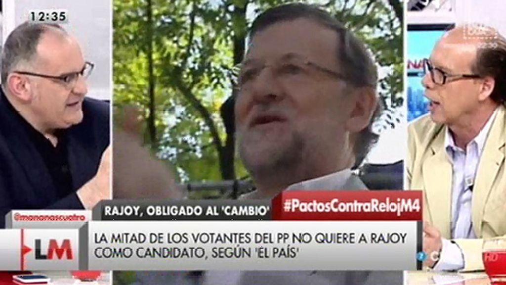 """Jaime González, sobre ABC: """"No abogamos por prescindir de Mariano Rajoy"""""""