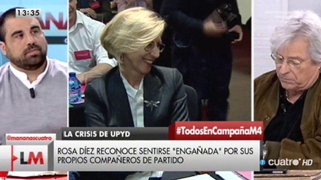 """Nart, a Rosa Díez: """"Cuando uno fracasa tendrá que buscar las razones del fracaso"""""""