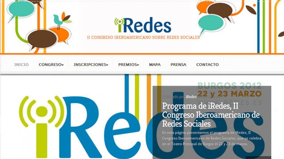 II Congreso Iberoamericano iRedes 2012
