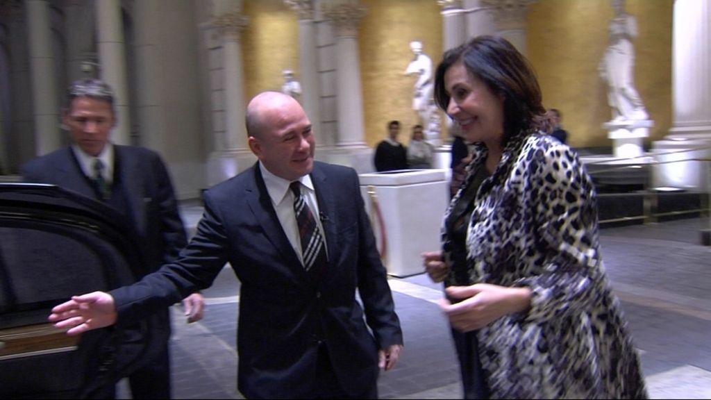 Carmen Martínez Bordiu alucina con Las Vegas