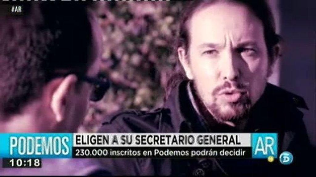 Podemos elige a su secretario general